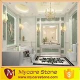 Inquiry about Volakas white marble flooring tiles price for bathroom floor tiles