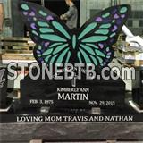 Inquiry about Cheap American Style Black Granite Headstone For Graves