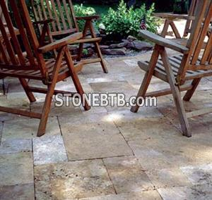 Limestone and Marble Pavers