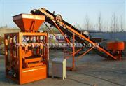 Small concrete block making machine