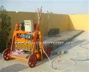 Egg laying mobile blcok making machine