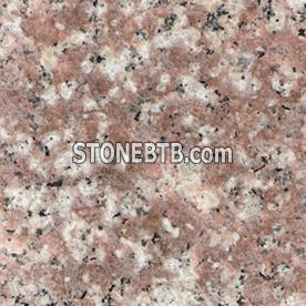 G687 peach pink granite, granite tile