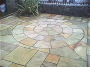 Fossil Mint Sandstone Paving Stone