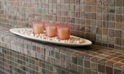 Copper Quartzitic Slate mosaic