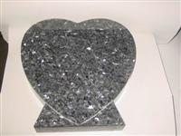 silver pearl tombstone monuments