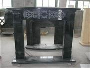 china black granite Fireplace mantel