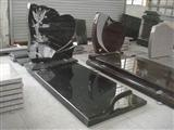 china black granite monuments tombstone