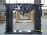 shanxi black Fireplace mantel