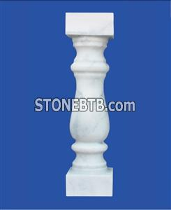 white marble baluster/stone stair 60x12x12cm  square