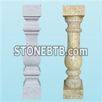 China manufacturers natural granite balustrades