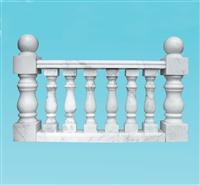 white marble  balustrade and staircase and stairs