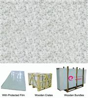 Quicksandy Grey Pore Crystallized Glass Panel