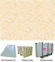 Quicksandy Beige Porous Crystallized Glass Panel
