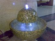 Tiger Yellow granite water fountain