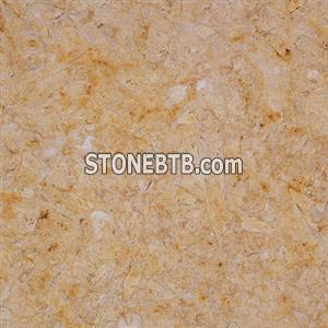 Pearly yellow marble