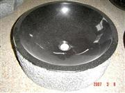 Black Round Granite Basins