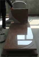 china red granite monument,beautiful red stone tom