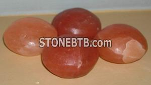 Natural Salt Massage Stones