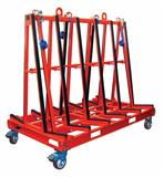 ONE STOP A-FRAME Abaco frame for stone, stone storage a frame, truck aframe, stone rack, stone tool machine,granite, marble, move, transport