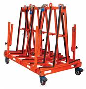 ONE STOP A-FRAME PRO Abaco frame for stone, stone storage a frame, truck aframe, stone rack, stone tool machine,granite, marble, move, transport