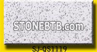 Crystal white and sparkling quartz stone quartz slab