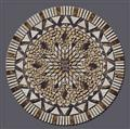 Travertine Mosaics, medallion