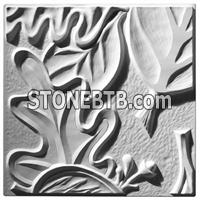 Retro Leaf Panel B - Ceiling Tile Design
