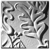 Retro Leaf Panel C - Ceiling Tile Design