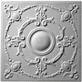 French Medallion Ceiling Tile Design