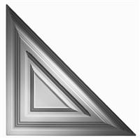 Classic Triangle - Ceiling Tile Design