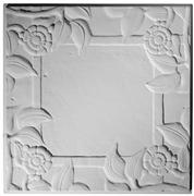 Spanish Rose Blank Center - Ceiling Tile Design