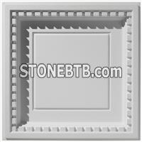 Coffered Dentil w- Revealed Edge- Ceiling Tile Design