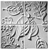 Retro Leaf 4 Panels - Ceiling Tile Design