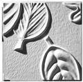 Retro Leaf Panel A Ceiling Tile Design