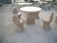 Stone Table and Bench, Garden Table