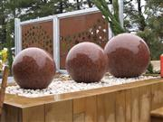 Stone Ball, Red Granite Balls