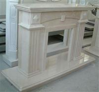 Carving Stone, Shite Marble Fireplace