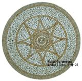 Travertine Medallions K-M-21