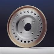 Wheels for rectifying sanitary ware