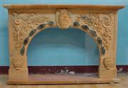 Carving Fireplace