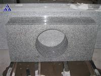G603 Padang crystal grey granite vanity top
