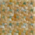 Honey Onyx Arc Mosaic Tile