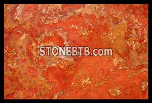 Red Persiano Travertine