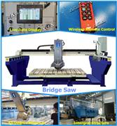 Automatic Tile Bridge Saw for Cutting Granite Marble