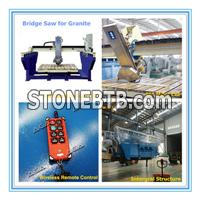 Automatic Granite Bridge Saw for Stone Tiles