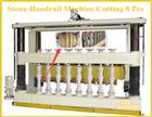 Stone Handrail/Baluster/Column Machine Cutting 8 Pieces Simultaneously