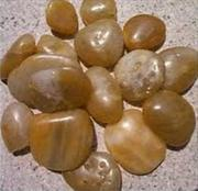 Natural pebble for decoration