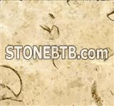 Good quality China polished screw beige marble