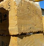 Persian Yellow Azarshahr Travertine Blocks