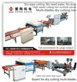 HZJ-3-1200 Multi blade ceramic tile dry cutting line